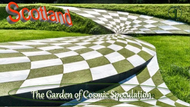 The wonderfully named Garden of Cosmic Speculation at Portrack House (near Dumfries) in Scotland was created by renowned l...