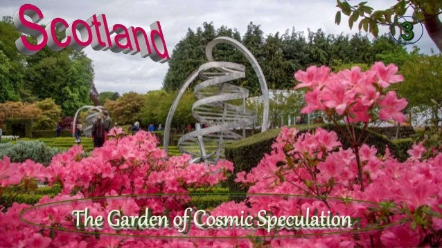 Garden of Cosmic Speculation is a private garden built by Charles Jencks and his wife in Portrack House, Dumfries, Scotlan...