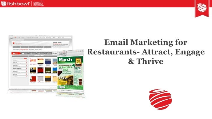 Email Marketing for Restaurants- Attract, Engage & Thrive<br />