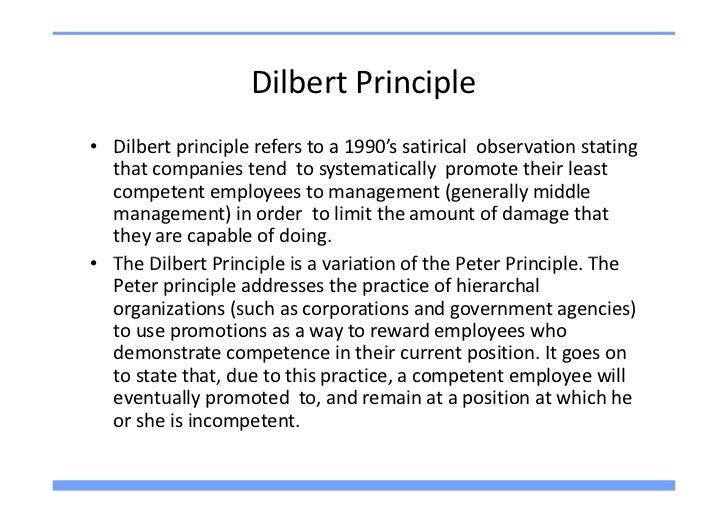 The Dilbert Principle ...
