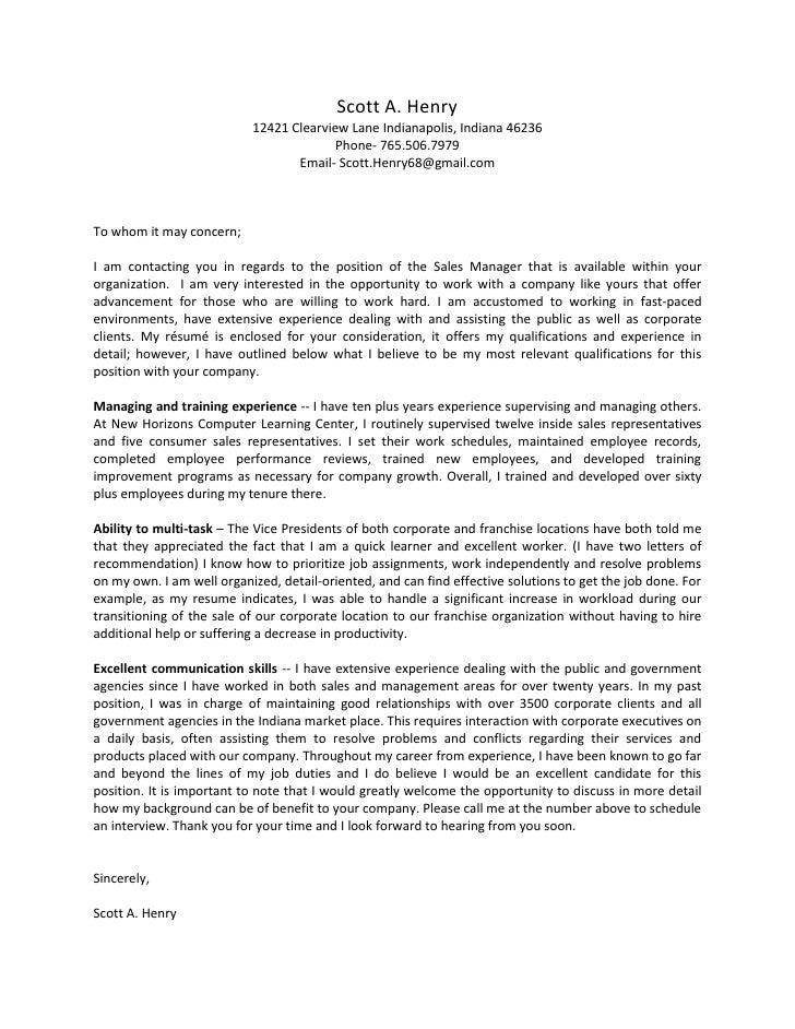 Uniquely Qualified Person Job Quick Cover Letter Work Experiences
