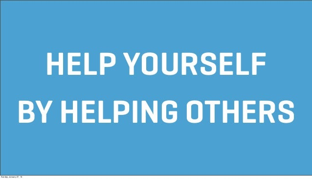 helping others helps yourself Discover how volunteering can help you enhance your skills and even change careers while helping others, in this valued post from csu online.