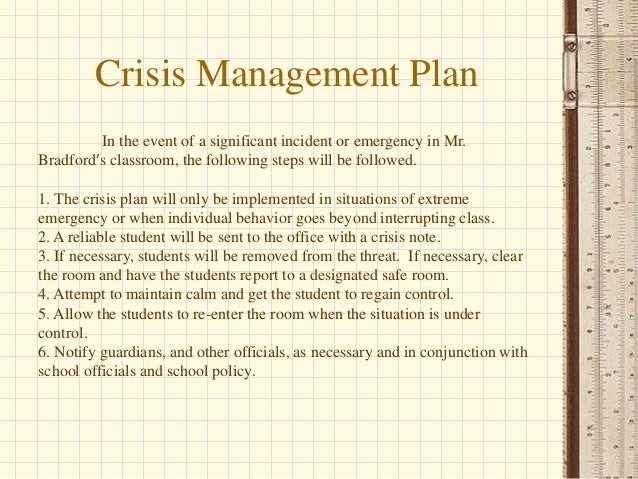 teacher crisis effects of classroom management Classroom culture is the direct interaction in the classroom between teacher and student, student and student, and student and outside adults, such as a guest speaker all students come to school with legal rights and protections.