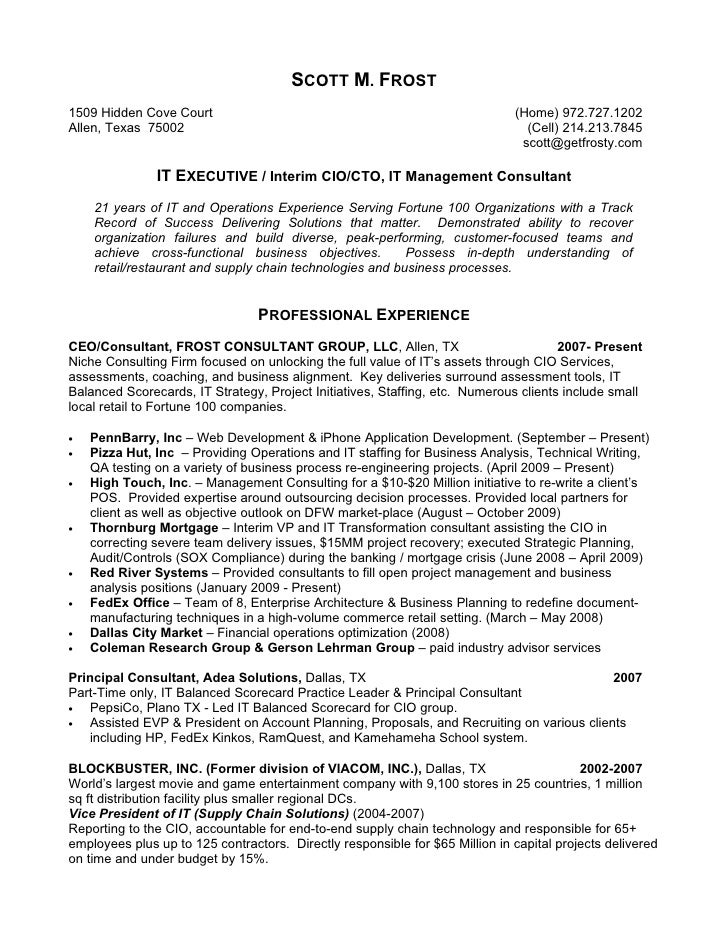 Financial Aid Assistant Resume Consulting Resume Example  Resume For Consulting