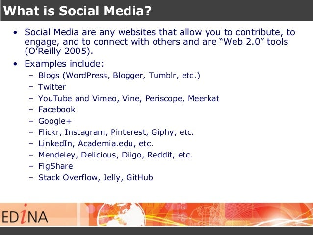 Using Social Media to Communicate Your Research Slide 3