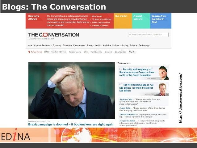 Blogs: The Conversation http://theconversation.com/