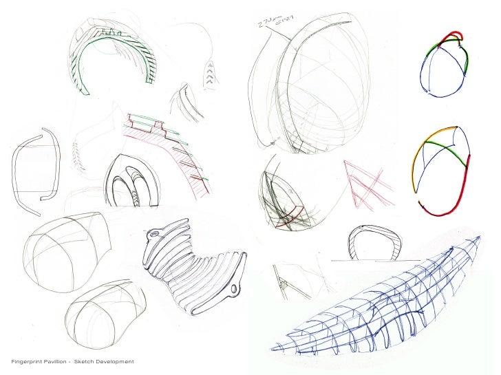 Fingerprint Pavillion   Sketch Development ...
