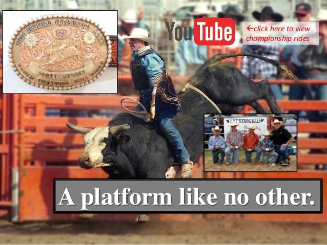 A platform like no other. click here to view championship rides