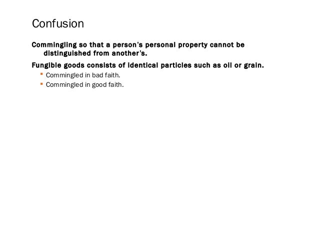 Accession When Someone Adds Value To A Piece Of Property