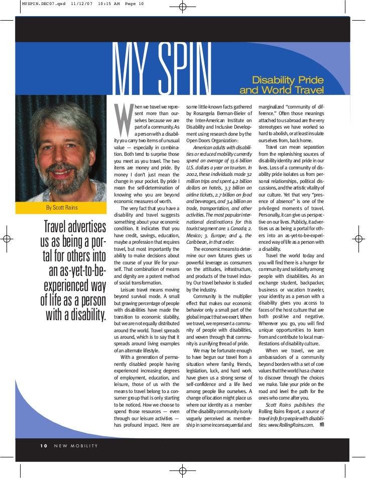 MYSPIN.DEC07.qxd   11/12/07   10:15 AM   Page 10                                  MY SPIN                                 ...