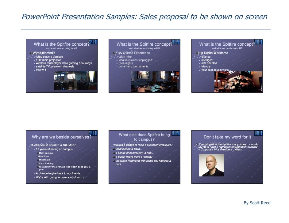 how to write a killer sales presentation