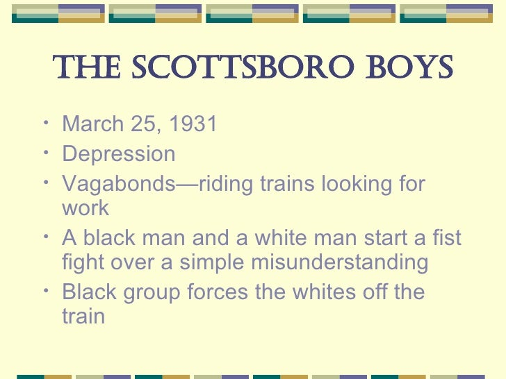 scottsboro trial research paper outline We can help you with your research paper  somebody goes on trial for murder  america i am the scottsboro boys.