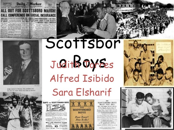 Scottsbor o BoysJudith TorresAlfred IsibidoSara Elsharif