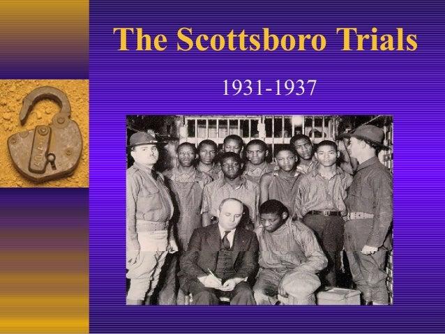 The Scottsboro Trials 1931-1937