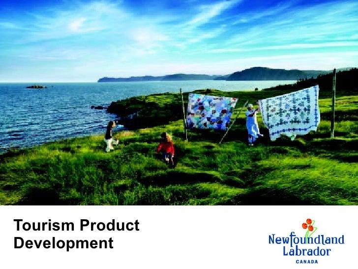 Tourism Product Development
