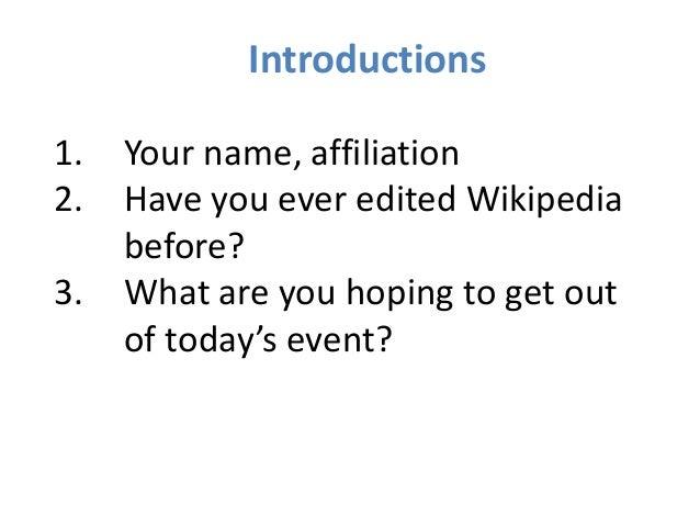 Intro to Editing Wikipedia - SCOTUS Editathon at NARA Slide 2