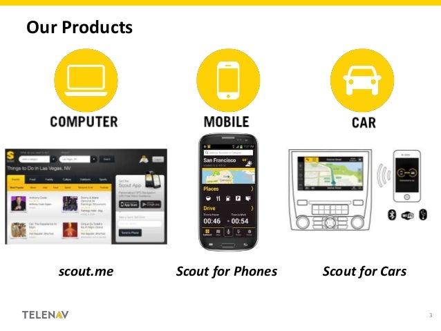 Scout for Apps & Web CES 2013 Developer University Slide 3