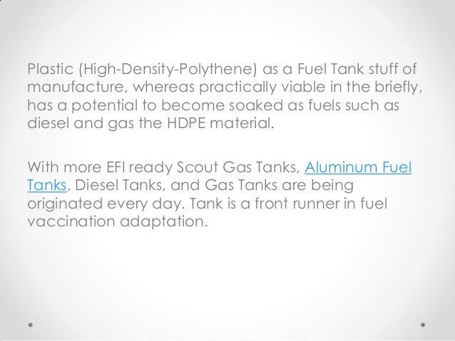 Scout Gas Tanks | Aluminum Fuel Tanks | Diesel Tanks | Gas