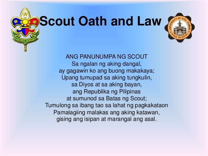 scout oath and law