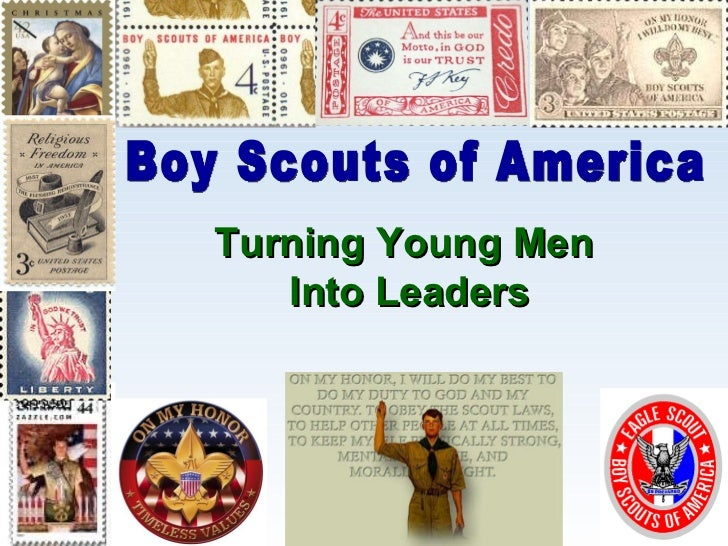 Turning Young Men  Into Leaders Boy Scouts of America