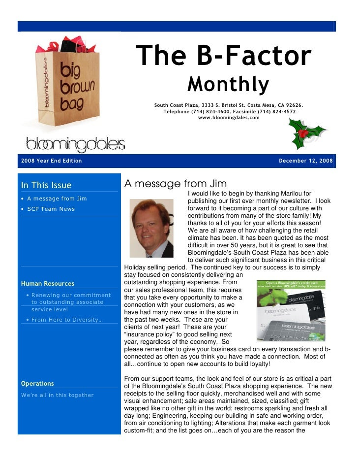 The B-Factor                                                       Monthly                                          South ...