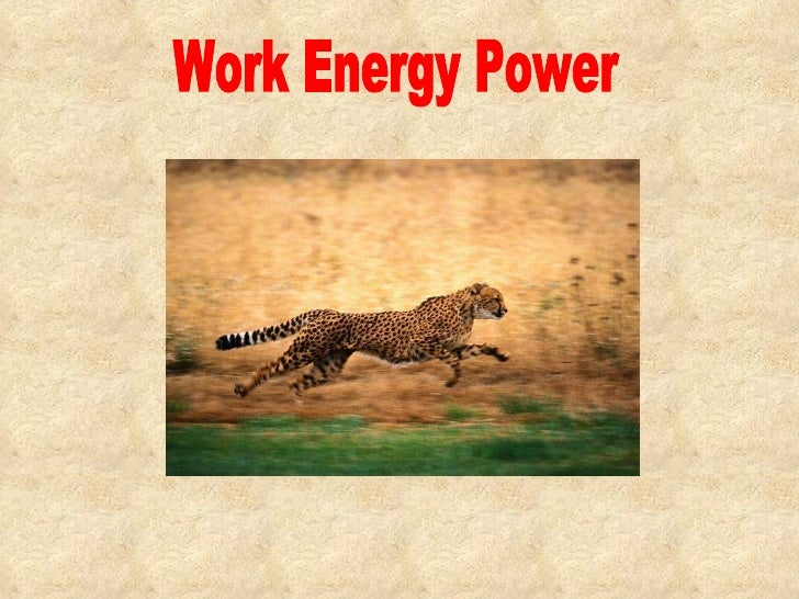 Sc(phys) chapter 7  work, energy and power
