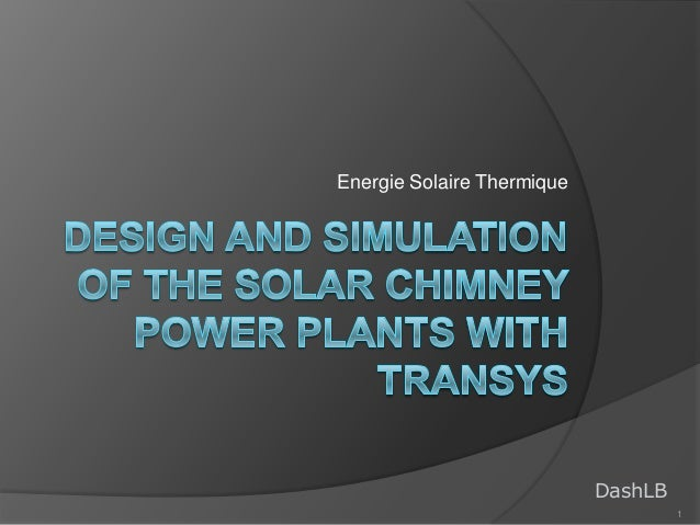 Energie Solaire Thermique  DashLB 1