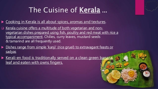 Food changes happend to kerala for Cuisine of kerala