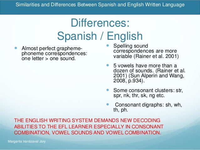 similarities and differences between the english and german language Transcript of differences between polish and english grammar between polish and english grammar the polish language has got only 3 tenses.