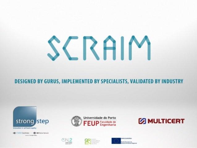 [StepTalks2013] - SCRAIM - Bruno Sousa Martins