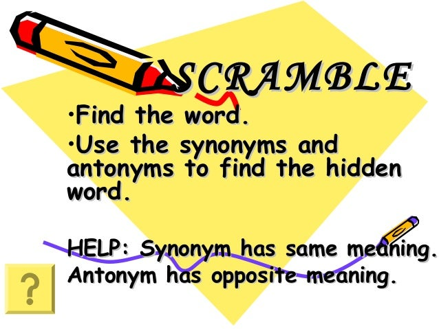Scramble / Idioms and Phrases / Diary Writing