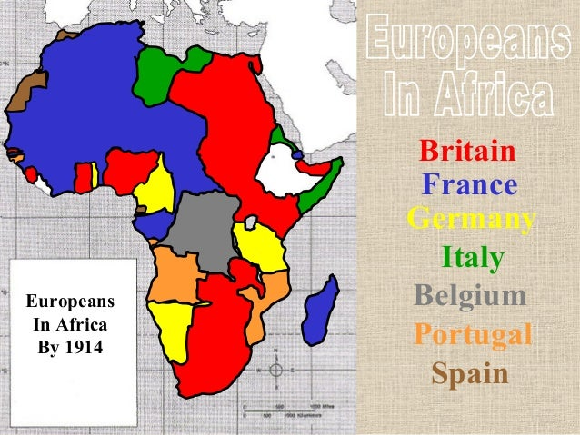 scramble of africa The history of the continent from an african perspective  history from the origins  of humankind to the end of south african apartheid  the african scramble.