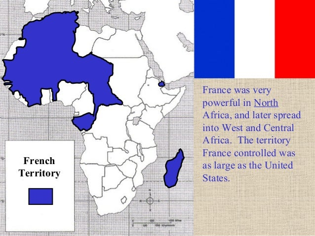 French Africa Map.Scramble For Africa