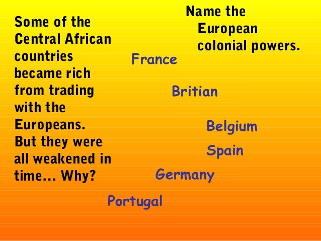 an analysis of the period of colonial conquest in africa by belgium Imperialism and anti-imperialism in africa by  its politics and its ideology stimulates the striving for colonial conquest  and africa during the period of.
