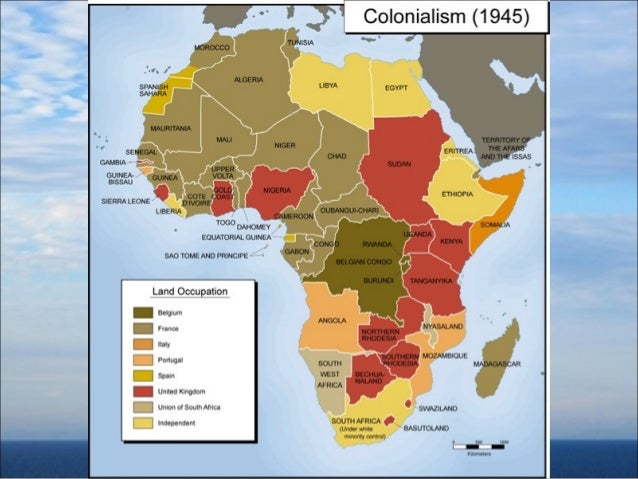 positives and even downside with colonialism