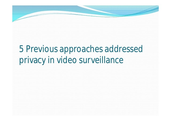 scrambling for privacy protection in video Full-text paper (pdf): ebrahimi, t: scrambling for privacy protection in video surveillance systems ieee trans circuits syst video technol 18(8), 1168-1174.