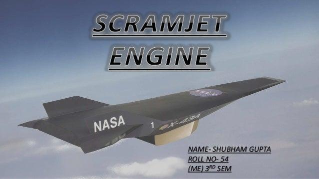 Scramjet engine