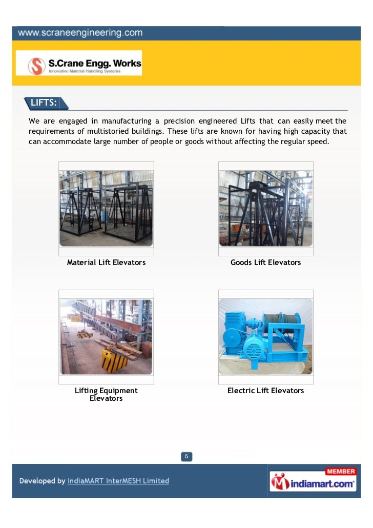 LIFTS:We are engaged in manufacturing a precision engineered Lifts that can easily meet therequirements of multistoried bu...
