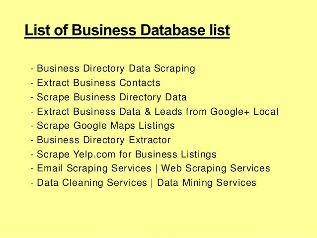 Scraping B2B Emails Data List for Top Executives – CEO and CFO