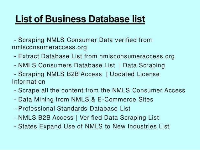 how to get nmls license