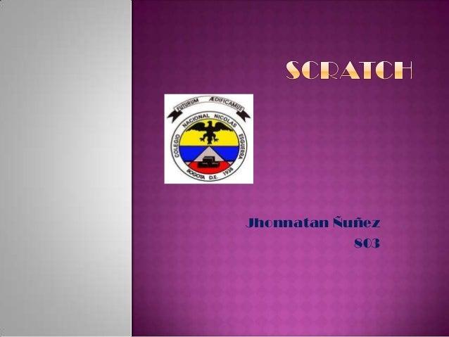 Jhonnatan Ñuñez 803