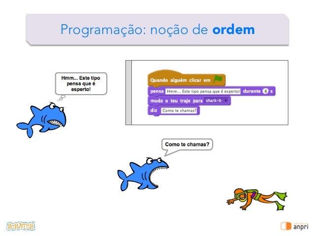 ! Programação: noção de ordem