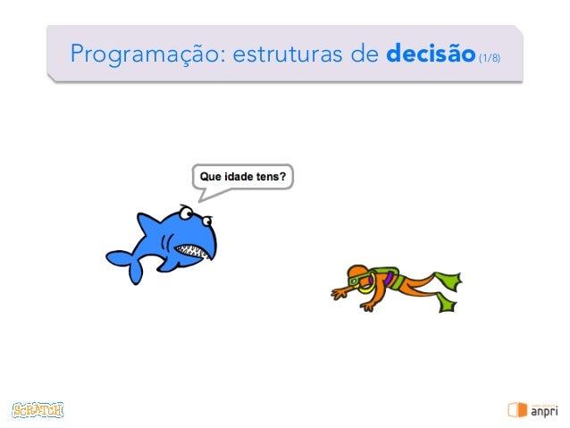 ! Programação: estruturas de decisão(1/8)