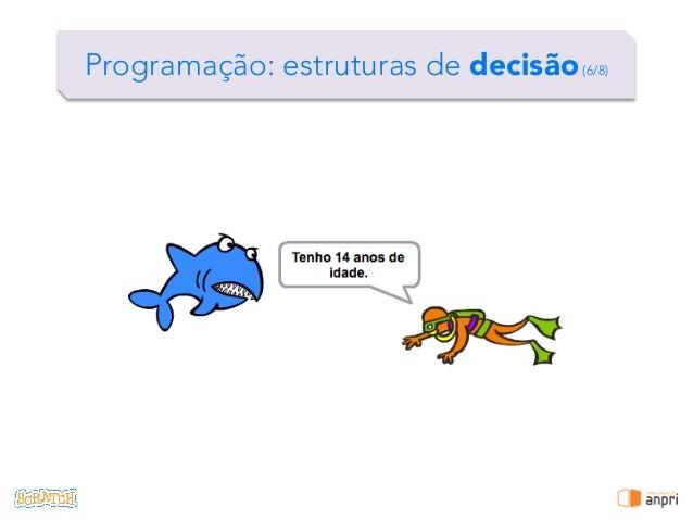 ! Programação: estruturas de decisão(6/8)