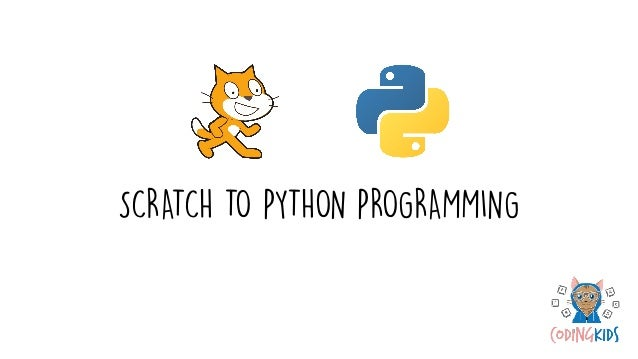 Looking at how Scratch and Python compare