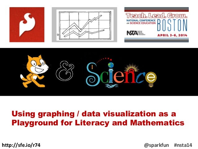 http://sfe.io/r74 @sparkfun #nsta14 Using graphing / data visualization as a Playground for Literacy and Mathematics
