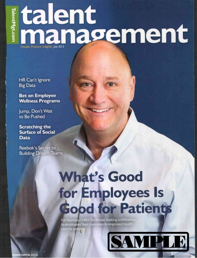 Talent Management Magazine Interview - July 2013; Dave Mendoza - Scratching the Surface of Social Data