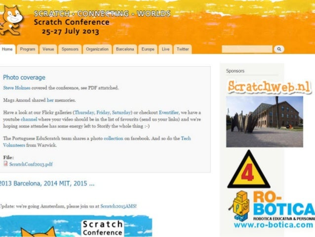 Scratch@mit 2016 報告会