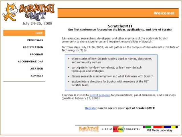 それ以外のカンファレンスなど • Scratch@MITがない年にヨーロッパで開催 • 2013年 バルセロナ • 2015年 アムステルダム • 2017年 未定 (ブラジル?) • Scratch Day • 毎年5月に世界各地で開催 • ...