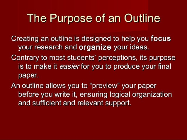 scratch-outline-2-638 Formal Outline Example Paper on apa college research, for topic, scientific research, history research, psychology research,